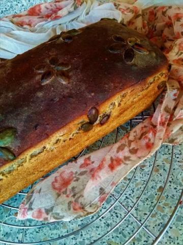 Kváskový chléb podle přírodní zahrady